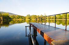 Free Reservoir Lake Royalty Free Stock Images - 20377799