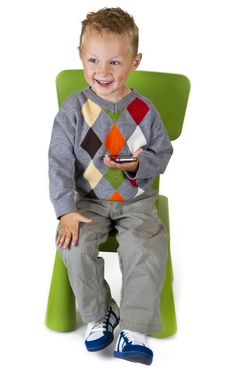 Free Happy Boy With A Smart Phone Stock Photography - 20378012
