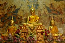 Free Statues Of Buddha In  Thailand Stock Photos - 20378423