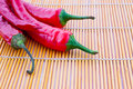 Free Red Chilli Peppers Stock Photography - 20380012