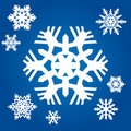 Free Original Snowflakes Royalty Free Stock Photography - 20388297