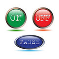 Free Buttons Start-up, Stop Stock Photography - 20389372