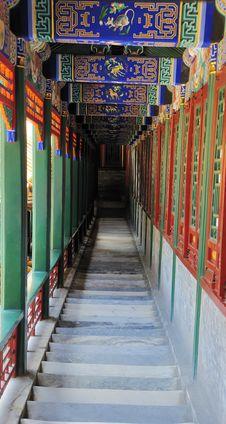 Free Summer Palace Corridor Stock Photos - 20380673