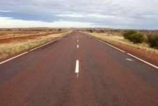 Free Lonely Highway In Desert Royalty Free Stock Image - 20380716