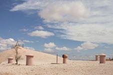 Free Underground Town In Desert Stock Photos - 20380723