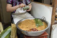 The Manual Processing Dumplings Stock Photos
