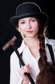 Free Clockwork Girl Stock Photography - 20381352