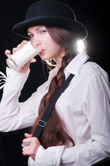 Free Clockwork Girl Stock Photos - 20381423