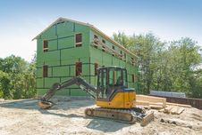 Free House Under Construction Royalty Free Stock Photo - 20381625
