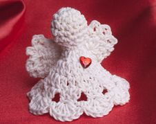 Free Handmade Crochet Angel Stock Photos - 20381683