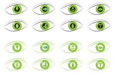 Free Eco Eyes Royalty Free Stock Image - 20382106
