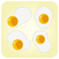 Free Fried Eggs Stock Photo - 20382460