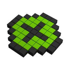 Free 3d Plus Pixel Icon Stock Photo - 20383060