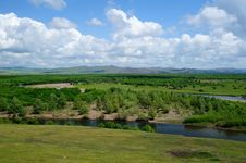 Free Wetland Landscape Royalty Free Stock Photography - 20383567
