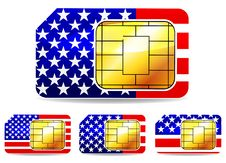 Free American Sim Card Stock Images - 20383604