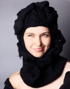 Portrait Of Smiling Woman Royalty Free Stock Images