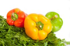 Free Peppers Royalty Free Stock Image - 20385066