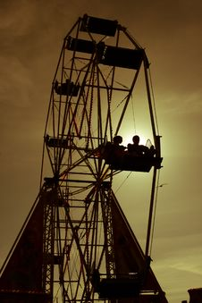 Free Funfair Wheel Stock Photography - 20385192