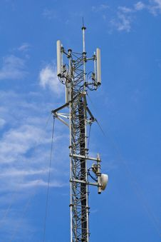 Free Mobile Telephone Antenna Stock Photography - 20386042