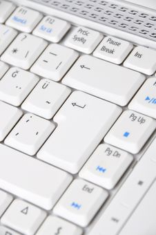 Free Computer Keyboard Stock Photography - 20387482