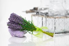 Bunch Of Lavender Flower Royalty Free Stock Image