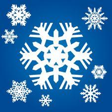 Free Original Snowflakes Royalty Free Stock Photography - 20388297