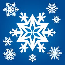Free Original Snowflakes Royalty Free Stock Image - 20388306