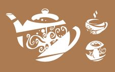 Free Tea-cloth Royalty Free Stock Photos - 20388418