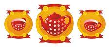 Free Red Tea Service Stock Photos - 20388423
