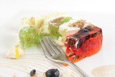 Free Fancy Half Eaten Cake Stock Images - 20388604
