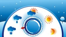 Free Weather Thermometer Royalty Free Stock Photo - 20388685