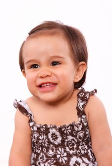 Free Smiling Baby Girl Royalty Free Stock Photo - 20388895