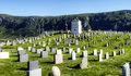 Free Old Graveyard In Dramatic Scenery Stock Photography - 20390802