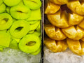 Free Fresh Mango And Pineapple For Sale Royalty Free Stock Photography - 20395337