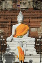 Free Stone Statue Of A Buddha Royalty Free Stock Image - 20395866