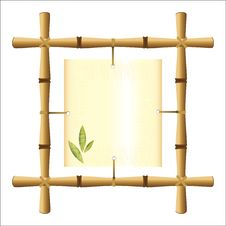 Free Bamboo Frame Royalty Free Stock Photography - 20390147