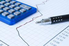 Free Drawing Graph Royalty Free Stock Photos - 20390508