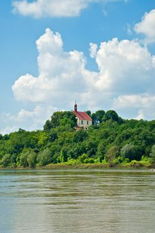 Free Church On The Riverbank Stock Photo - 20390670