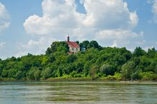 Free Church On The Riverbank Stock Photos - 20390833