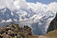 Free Expedition Mont Blanc Stock Images - 20390834