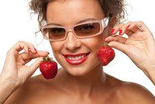 Free Sweet Strawberry Royalty Free Stock Photos - 20391258