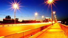 Free Night Road Stock Image - 20391271