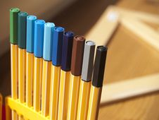 Free Colorful Markers Stock Images - 20392344