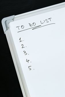 Free To Do List Concept Stock Photography - 20392462