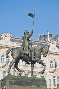 Free Wenceslas Statue Stock Image - 20392561