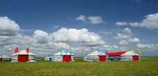 Free Red Yurts Stock Photos - 20393203