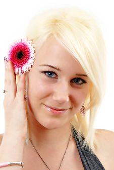 Free Portrait Of Young Beautiful Woman Stock Photo - 20393910