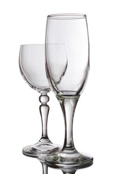 Free Glass For Wine Royalty Free Stock Image - 20394176