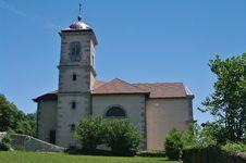 Clermont Church Stock Photo