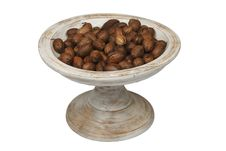 Free Bowl Of Chestnuts Royalty Free Stock Photography - 20394637